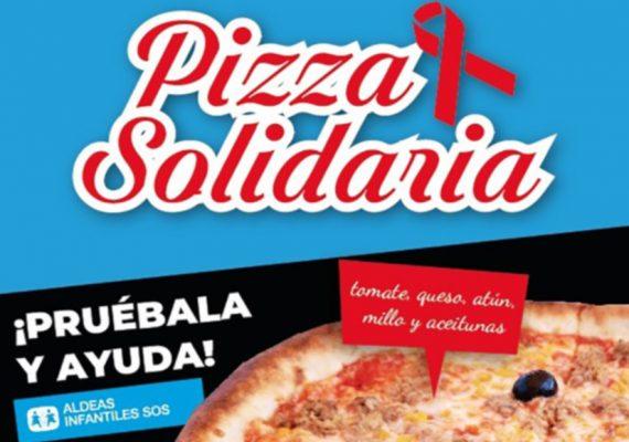 "Solidarity Pizza ""Aldeas Infantiles"""